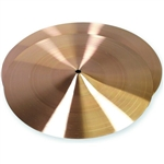 "GP Percussion 12"" Brass Cymbal C212"