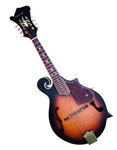 Trinity River FM4AS F-Style Florentine Mandolin - Sunburst