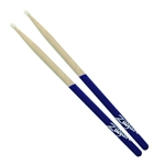 Zildjian 5A Purple Dip Wood Tip Drumsticks SDB5AWP