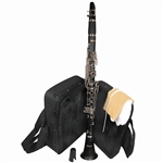 Mirage Bb Woodgrain Clarinet with Case TTC50WA