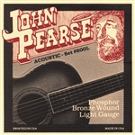 John Pearse 600L Light .012-.053 Phosphor Bronze Acoustic Strings