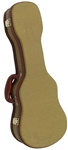 Armor Cases CC-150 Tweed Ukulele Hardcase for Concert Ukes
