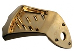 Ashton Bailey AB-TP-GD Cast Mandolin Tailpiece - Gold Finish