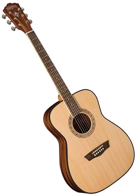 2a73b3f5c5 Washburn AF5K Apprentice Series Folk Body Acoustic Guitar with ...
