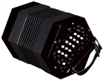 Trinity College AP-1130 Anglo-Style 30-Button Concertina - Black w/ Bag