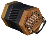 Trinity College AP-1230 Anglo-Style 30-Button Concertina - Walnut w/ Bag