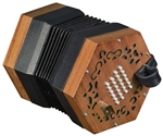 Trinity College AP-2248 English-Style 48-Button Concertina - Walnut w/ Bag