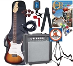 AXL SRO Headliner AS-750 Electric Guitar - Chord Buddy Starter Package - Play Instantly - 5 Colors ChordBuddy