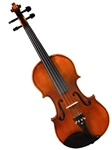 Adagio EM-130 All Solid Violin Outfit with Flamed Maple Back and Ebony Fittings
