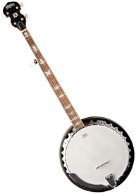Washburn B10 5-String Cast Pot Bluegrass Resonator Banjo