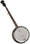 Washburn B16K 5-String Bluegrass Banjo Flamed Maple Resonator w/ Hard Case