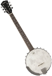 Washburn B6 6-String Open-Back Guitar Banjo Banjitar
