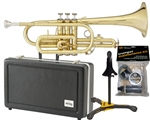 E.K. Blessing BCR-1230 Brass Lacquer Bb Cornet Made in the USA