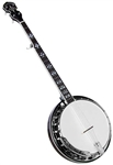Gold Tone BG-150F 24 Bracket Bluegrass Resonator Banjo w/ Bag