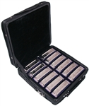 Johnson BK-520 Blues King Harmonica Set - 12 Keys w/ Carrying Case