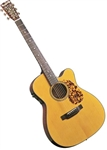 "Blueridge BR-143CE ""000"" Style Cutaway Acoustic Electric Guitar Historic Series"