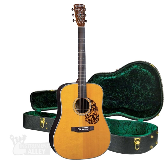 Blueridge BR-160 Dreadnought Acoustic Guitar - Historic Series  Sitka/Tonewood with Hard Case