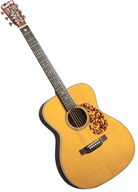 "Blueridge BR-163 ""000"" Style Acoustic Guitar Historic Series Rosewood w/ Case. Free Shipping"