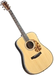 Blueridge BR-180A Adirondack Dreadnought Acoustic Guitar Historic Series Tonewood w/ Case