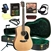 Blueridge BR-40 Contemporary Series Dreadnought Acoustic Guitar Deluxe Package Bundle Combo