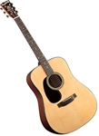 Blueridge BR-40LH Left Handed Acoustic Guitar Contemporary Series Dreadnought Guitar