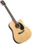 Blueridge BR-60CE Dreadnought Cutaway Acoustic Electric Guitar Contemporary Series