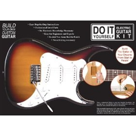 Do it yourself strat style electric guitar build kit builders axl do it yourself strat style electric guitar build kit builders package solutioingenieria Images