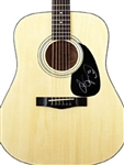 Adam Sandler Autographed Acoustic Guitar 100% Authentic