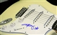 Angus Young of AC/DC Autographed Signed Strat Style Electric Guitar 100% Authentic