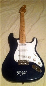 Black Shelton from the Voice Autographed Strat Style Electric Guitar 100% Authentic