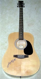 Jimmy Buffett Autographed Acoustic Guitar - Signed