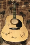 Buy Dave Matthews Band Autographed Acoustic Guitar 100% Authentic