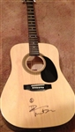 Dave Matthews Autographed Acoustic Guitar 100% Authentic Signed