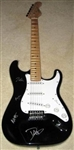 Foo Fighters Autographed Strat Style Electric Guitar 100% Authentic - Signed