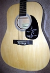 James Taylor Autographed Acoustic Guitar 100% Authentic