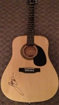 Luke Bryan Autographed Acoustic Guitar 100% Authentic - Signed Luke
