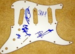 Dave Matthews Band Autographed Electric Guitar Pickguard 100% Authentic