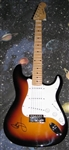 Led Zeppelin Autographed Electric Strat Style Guitar JIMMY PAGE Authentic