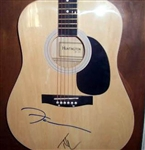 Tim McGRaw and Faith Hill Autographed Acoustic Guitar 100% Authentic - Signed by Both