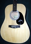 Willie Nelson Autographed Acoustic Guitar 100% Authentic