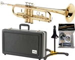E.K. Blessing BTR-1266 Brass Lacquer Bb Trumpet w/ Case Made in the USA