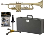 E.K. Blessing BTR-1460 Brass Lacquer Bb Trumpet w/ Case Made in the USA