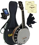 Gold Tone Banjolele Deluxe Banjo Uke Ukulele Bag Tuner Strings Package Bundle