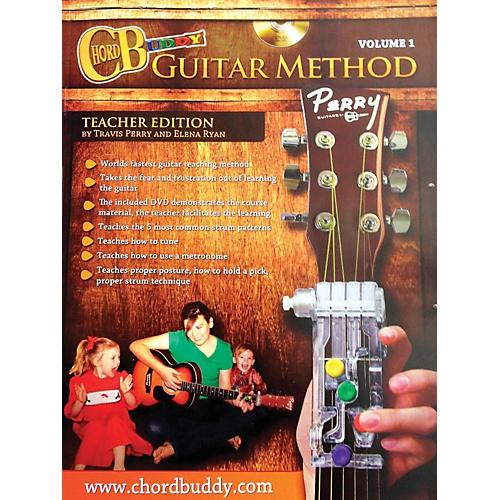 ChordBuddy Guitar Method Volume 1 Teacher Edition Manual Chord Buddy ...