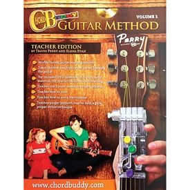 ChordBuddy Guitar Method Volume 1 Teacher Edition Manual Chord Buddy Book
