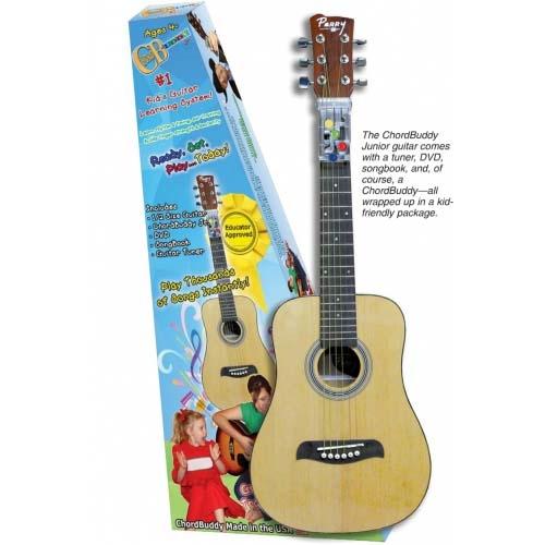 ChordBuddy Junior 1/2 Size Steel String Acoustic Guitar Jr. Combo ...
