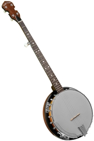 Gold Tone Cripple Creek CC-100R Plus Resonator Banjo CC-100R+ w/ Bag