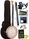Gold Tone CC-CARLIN12 5-String Bob Carlin Open Back Banjo w/ Bag