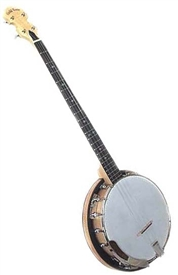 Gold Tone Cripple Creek CC-Plectrum 4 String Maple Resonator Banjo