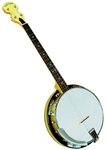 Gold Tone Cripple Creek CC-Tenor 4 String Maple Resonator Banjo